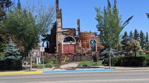 962010 240 300x168 - آتش زدن کلیساهای کاتولیک در کانادا