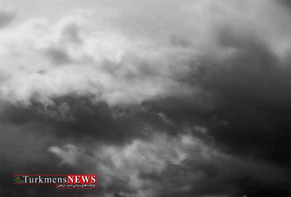 Abr 14F - نفوذ سامانه بارشی از چهارشنبه به استان گلستان