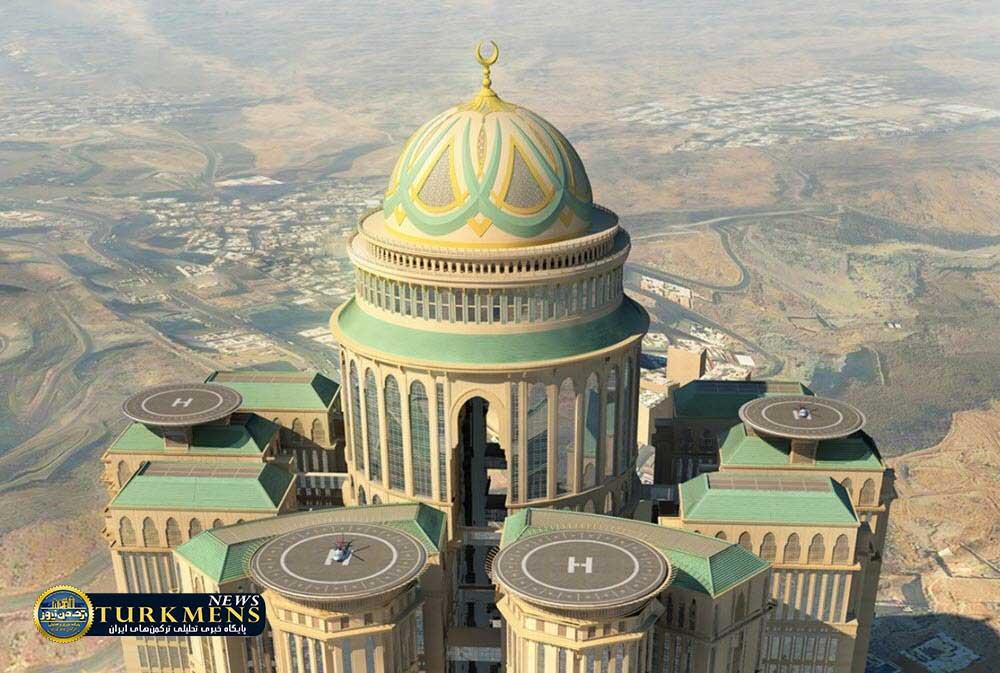 Abraj Kudai2 - بزرگترین هتل جهان در شهر مقدس «مکه» افتتاح میشود