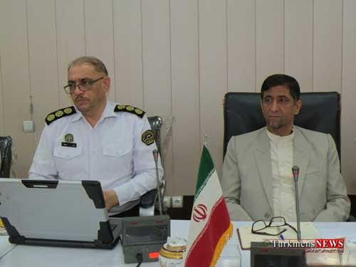 Agh Ghala 19 1 Sh - دومین جلسه شورای ترافیک شهرستان آق قلا برگزار شد