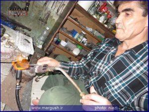 Ashir Safari TN 2 300x226 - آشور صفری هنرمند و استاد صنایع دستی ترکمن صحرا+تصاویر