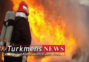 Atashsozi 19B 300x210 - یک مصدوم در حادثه آتش سوزی خودرو در گرگان