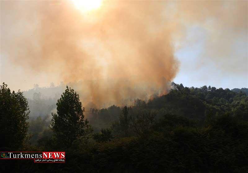 Atashsozi 20T - مهار و کنترل آتش سوزی در مناطق جنگلی کلاله و مراوه تپه
