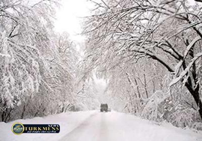 Barf 9 B - بارش ۸۰ سانتی متری برف در گلستان