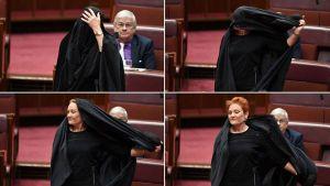 Bargha 27 M - سناتور استرالیایی با برقع وارد پارلمان شد