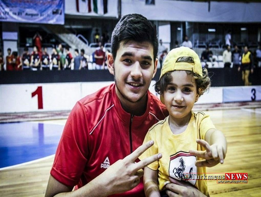 BasketBall 12 Sh - درخشش بلند قامت کردکویی در رقابتهای بسکتبال غرب آسیا+عکس
