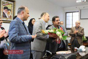 Bimarestan Shohada 1 300x200 - مراسم تکریم و معارفه ریاست سابق و جدید بیمارستان شهدای 12 دی گنبد کاووس برگزار شد+عکس
