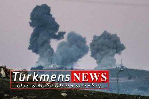 Bomb 17B 300x200 - حمله توپخانه ای ارتش سوریه علیه نظامیان ترکیه در جنوب حلب