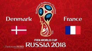 فوتبال فرانسه و دانمارک