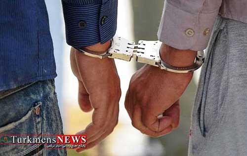 Dastgir 30T - دستگیری اعضای باند سرقت از زنان توسط پلیس گلستان