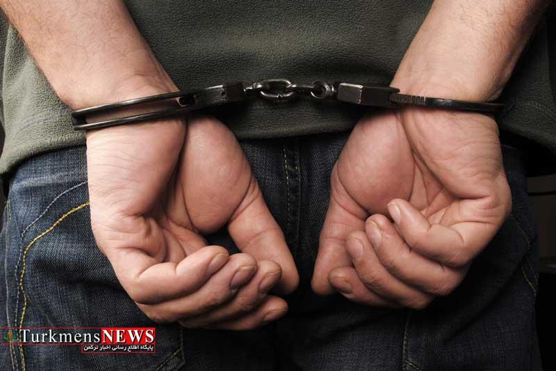 Dastgiri 11A - عامل برداشت غیرمجاز پول از حساب شهروند گنبدی دستگیر شد