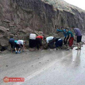 مشکلات جاده کلاله – گنبد در روستای صوفی شیخ داز و درخواست مردم