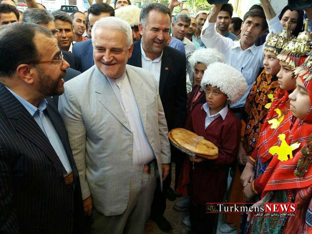 Eftetah 12 Sh - افتتاح کتابخانه عمومی و آغاز ساخت بیمارستان در مراوهتپه