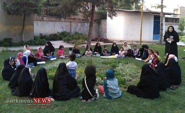 Farhang Ketab 29T 5 - برگزاری نشست قصه گویی رضوی به مناسبت روز دختر در گنبد کاووس+عکس