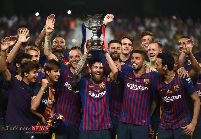 Footbal 22M - مسی پر افتخارترین بازیکن سوپر جام اسپانیا