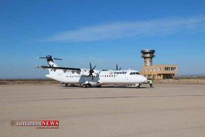 Frodgah 300x200 - پرواز فرودگاه کلاله در سال جدید برای چهارمین بار لغو  شد
