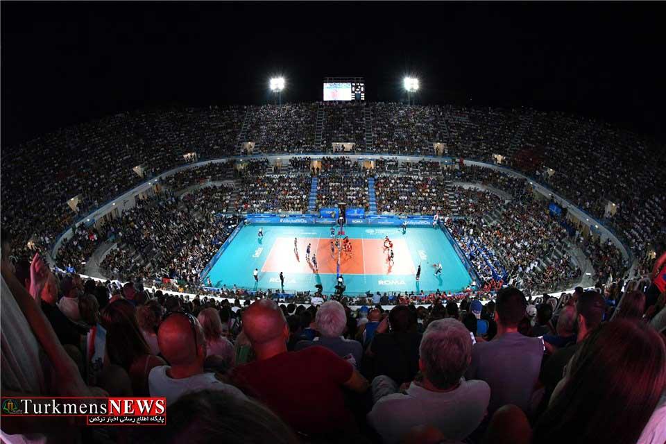 GetImage 1 - افتتاحیه والیبال قهرمانی جهان با قدرت نمایی گلادیاتورها+ عکس