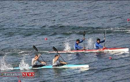 Ghayeghran 18S - پارو زنی هفت تن از قایقرانان استان گلستان در خلیج گرگان