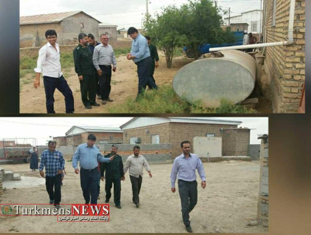 Gomishan 29T - مردم روستاهای مرزی گمیشان خواستار صرفه جویی در مصرف آب از مردم سایر مناطق