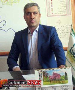 حمید رضا حجی زاده مدیر عامل سازمان اتوبوسرانی و تاکسی رانی شهرداری گنبد کاووس
