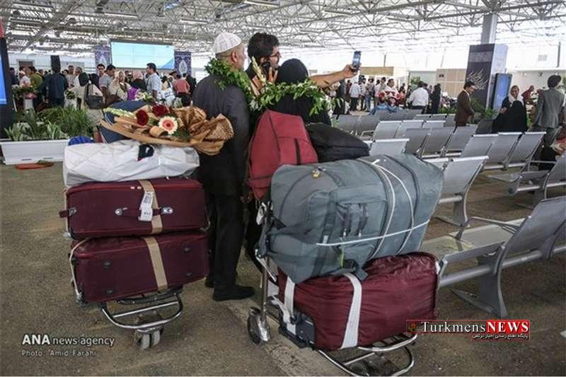 Haj 25 Sh - بازگشت بیش از ۳۱هزار نفر از حجاج به کشور