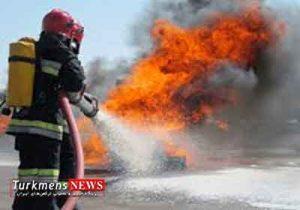 Harigh 8O 300x210 - آتش سوزی خودرو پراید در گرگان