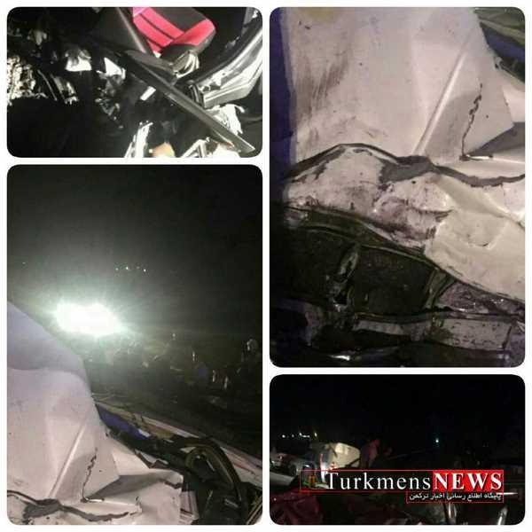 Havades 15 Sh - برخورد دو دستگاه خودرو صبح امروز جان سه نفر را گرفت