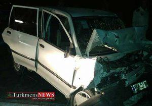 Havades 18F 300x210 - 6 مصدوم و یک فوتی در سانحه تصادف دو پراید در گنبدکاووس