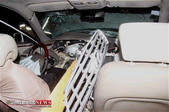 Havades 24F - 2 کشته و 4 مصدوم در سانحه رانندگی در آق قلا