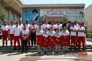 Helal Gonbad TN 5 300x200 - تیم واکنش سریع هلال احمر شرق استان گلستان رسما فعال شد+تصاویر