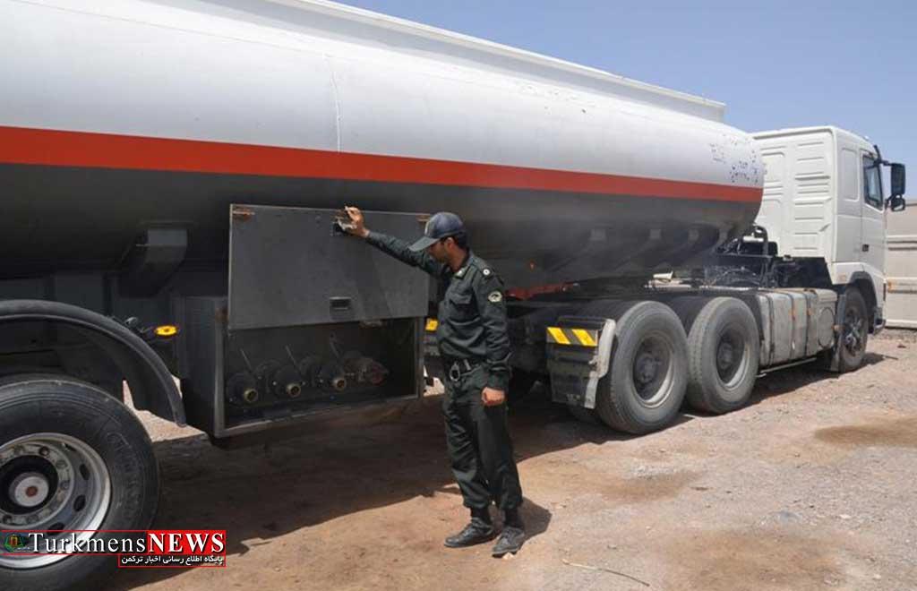 کشف سوخت قاچاق در شهرستان آق قلا