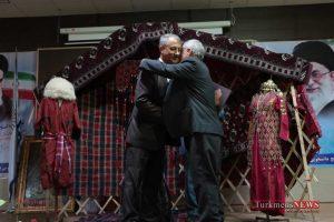 IMG 0035 300x200 - مراسم رونمایی از کتاب زبان و ادبیات ترکمنی+تصاویر