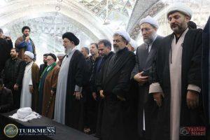 IMG 1747 300x200 - پیکر حجتالاسلام سبحانی امام جمعه سابق گنبدکاووس تشیع شد+تصاوير