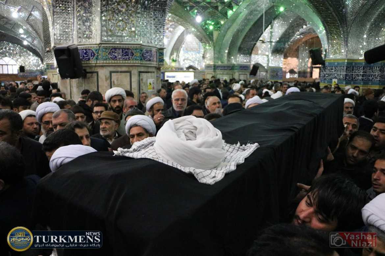 IMG 1781 - پیکر حجتالاسلام سبحانی امام جمعه سابق گنبدکاووس تشیع شد+تصاوير
