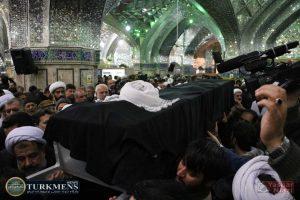 IMG 1784 300x200 - پیکر حجتالاسلام سبحانی امام جمعه سابق گنبدکاووس تشیع شد+تصاوير