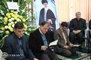 IMG 2109 300x200 - مراسم سومین روز درگذشت  امام جمعه سابق گنبد کاووس برگزار شد+عکس