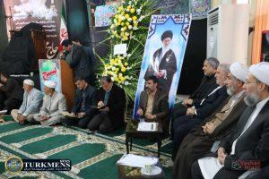 IMG 2117 300x200 - مراسم سومین روز درگذشت  امام جمعه سابق گنبد کاووس برگزار شد+عکس