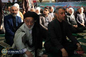IMG 2409 300x200 - مراسم سومین روز درگذشت  امام جمعه سابق گنبد کاووس برگزار شد+عکس