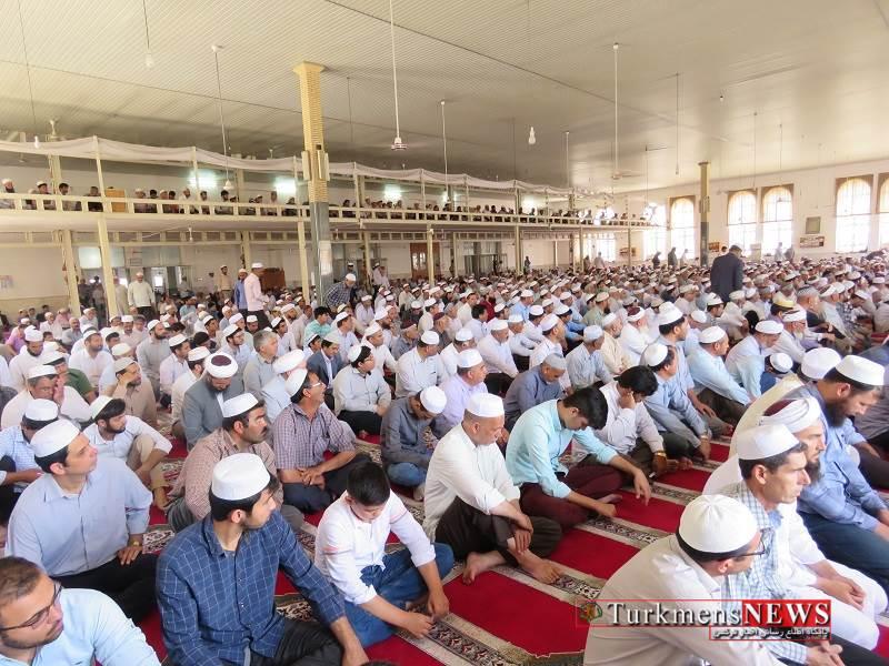 IMG 3588 - آخرین نماز جمعه ماه رمضان در بندر ترکمن برگزار شد+ تصاویر