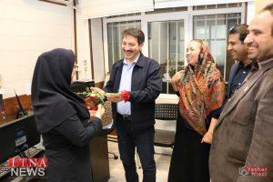 IMG 4719 300x200 - بازدید و تبریک اعضای نظام پرستاری از بیمارستان های شرق گلستان+عکس
