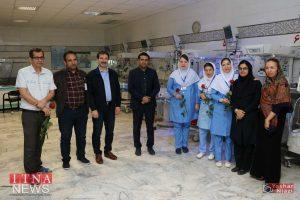 IMG 4727 300x200 - بازدید و تبریک اعضای نظام پرستاری از بیمارستان های شرق گلستان+عکس