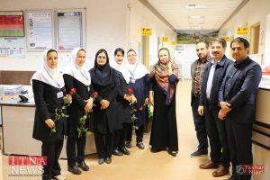 IMG 4745 300x200 - بازدید و تبریک اعضای نظام پرستاری از بیمارستان های شرق گلستان+عکس
