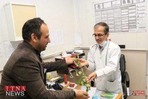 IMG 4777 300x200 - بازدید و تبریک اعضای نظام پرستاری از بیمارستان های شرق گلستان+عکس