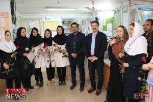 IMG 4792 300x200 - بازدید و تبریک اعضای نظام پرستاری از بیمارستان های شرق گلستان+عکس