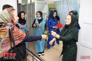 IMG 4800 300x200 - بازدید و تبریک اعضای نظام پرستاری از بیمارستان های شرق گلستان+عکس