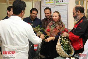 IMG 4806 1 300x200 - بازدید و تبریک اعضای نظام پرستاری از بیمارستان های شرق گلستان+عکس