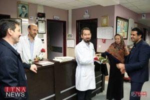 IMG 4840 300x200 - بازدید و تبریک اعضای نظام پرستاری از بیمارستان های شرق گلستان+عکس