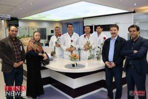 IMG 4871 300x200 - بازدید و تبریک اعضای نظام پرستاری از بیمارستان های شرق گلستان+عکس