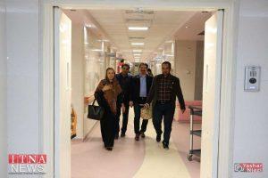 IMG 4880 300x200 - بازدید و تبریک اعضای نظام پرستاری از بیمارستان های شرق گلستان+عکس