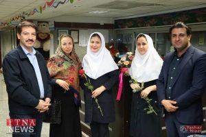 IMG 4888 300x200 - بازدید و تبریک اعضای نظام پرستاری از بیمارستان های شرق گلستان+عکس